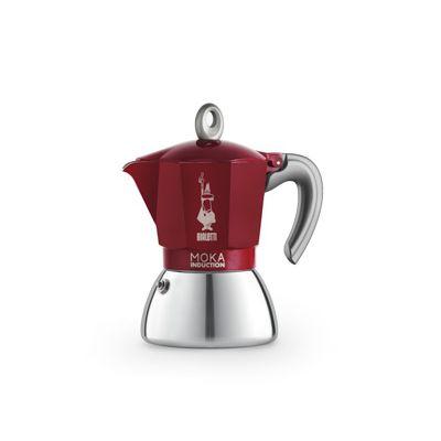 Bialetti New Moka Induction Koffiemaker Rood 6t