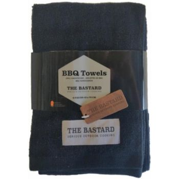 The Bastard handdoek 45cm x 70 cm set 2 stuks