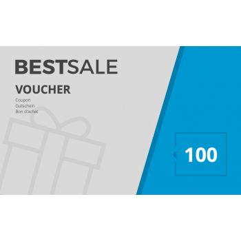 BestSale Shop Voucher €25 – €500