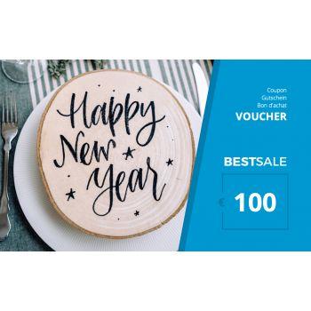 BestSale Shop Voucher €25 – €500 / Happy New Year