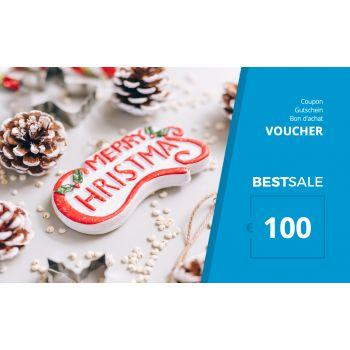 BestSale Shop Voucher €25 – €500 / X-Mas