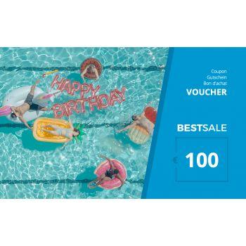 BestSale Shop Voucher €25 – €500 / Birthday Pool