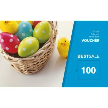 BestSale Shop Voucher €25 – €500 / Easter