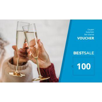 BestSale Shop Voucher €25 – €500 / Congratulation