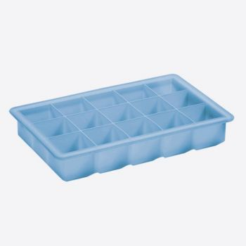 Lurch ijsblokjesvorm kubus klein ijsblauw 3x3cm