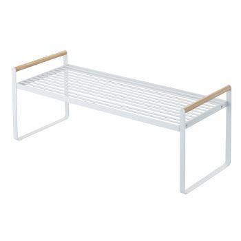 Kitchen storage shelf - Tosca - white