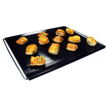 Bakeflon Brood-/afbakmat verstelbaar - 300x400mm - Zwart