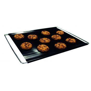 Bakeflon Brood-/afbakmat verstelbaar - 400x600mm - Zwart
