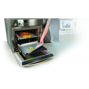 Bakeflon Oven beschermer - 400x500mm - Zilver