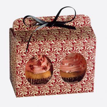 Kaiser geschenkdoos voor 2 muffins flora