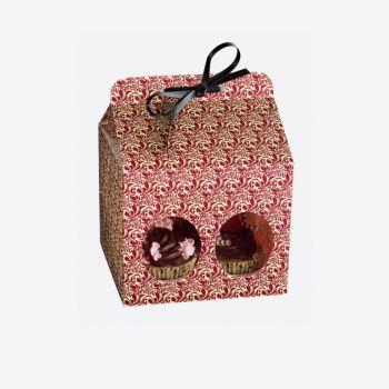 Kaiser geschenkdoos voor 4 muffins flora