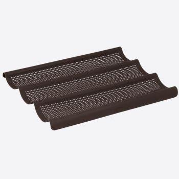 Lurch Flexiform bakvorm uit silicone voor stokbrood 3 stuks 36x28.5cm