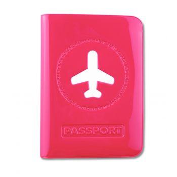 HF Passport Cover, Pink
