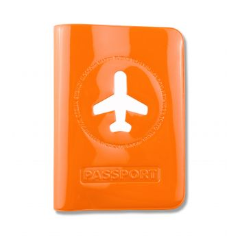 HF Passport Cover, Orange
