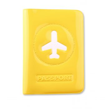 HF Passport Cover, Yellow