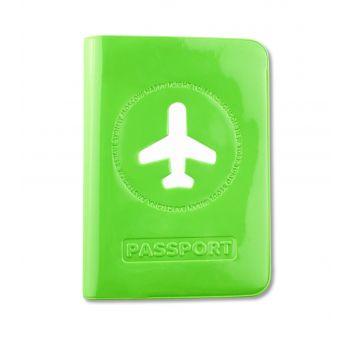 HF Passport Cover, Lime