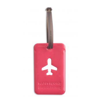 HF Luggage Tag Squared, Pink