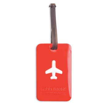 HF Luggage Tag Squared, Red