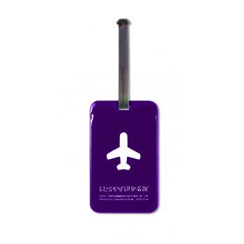 HF Luggage Tag Squared, Violet