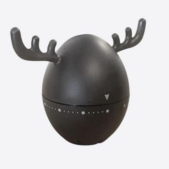Cookut Wapy kookwekker eland zwart 10x6x8.5cm