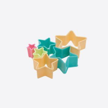 Dotz set van 6 uitsteekvormpjes ster