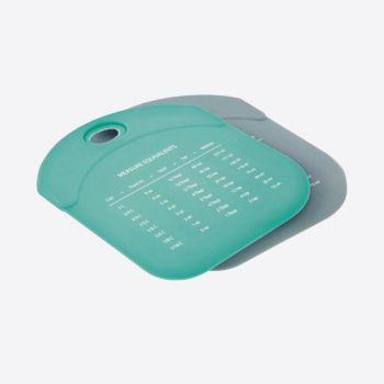 Dotz deegschraper uit silicone grijs of aquablauw (24st./disp.)