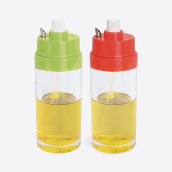 Dotz olieverstuiver met schenktuit groen of rood 150ml (8st./disp.)