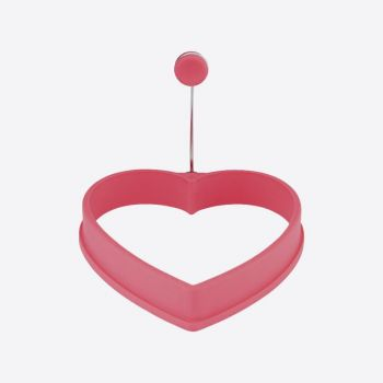 Dotz eibakring uit silicone hart roze 11x11x2cm