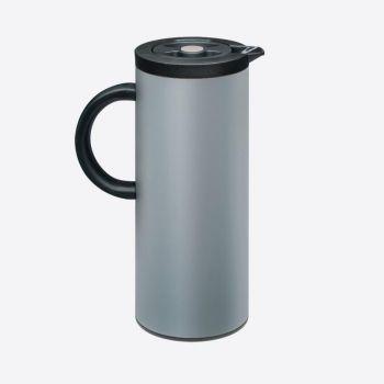 Dotz isoleerkan met glazen binnenfles grijs 1L