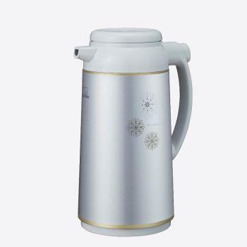 Zojirushi isoleerkan met glazen binnenfles zilvergrijs 1.9L