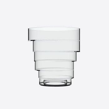 Italesse Solomon Bucket wijnkoeler uit acryl transparant Ø 22cm H 23.8cm