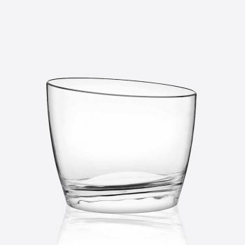 Italesse Easy Bowl Round wijnkoeler uit acryl transparant Ø 32cm H 26.5cm