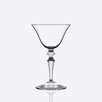 Italesse Wormwood Astoria set van 6 champagnecoupes met bloemenmotief 130ml