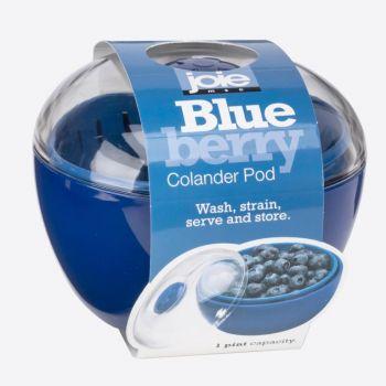 Joie Blueberry voorraaddoos met vergiet uit kunststof blauw ø 12cm H 10.2cm