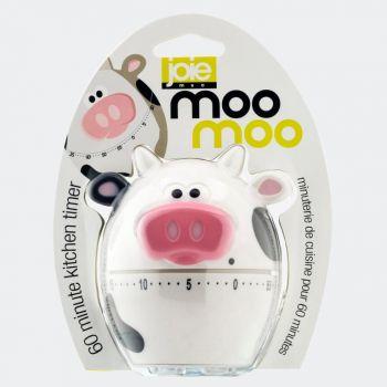 Joie MooMoo kookwekker tot 1 uur koe wit