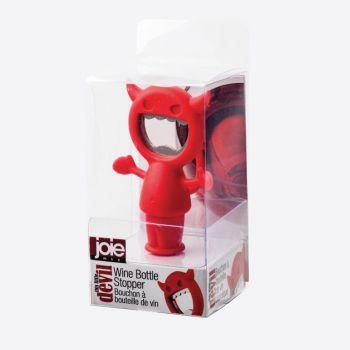 Joie Devil flessenopener/flessenstop rood