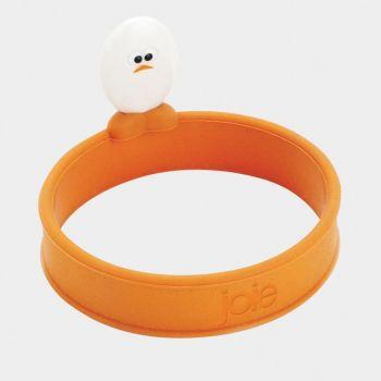 Joie Roundy eibakring uit silicone oranje Ø 12.7cm H 6.4cm