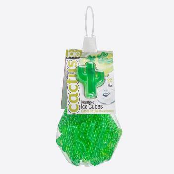 Joie Cactus set van 20 herbruikbare ijsblokjes groen
