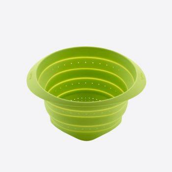 Lékué vouwbaar vergiet uit silicone groen Ø 23cm
