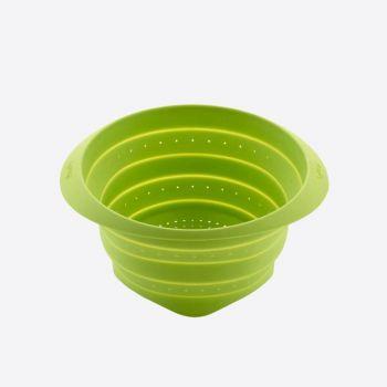 Lékué vouwbaar vergiet uit silicone groen Ø 18cm
