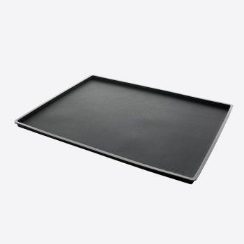 Lékué Non Spill bakmat uit silicone zwart 40x30x1.2cm