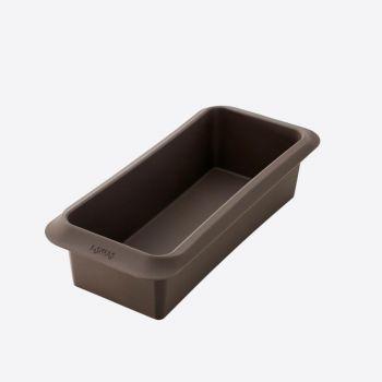 Lékué rechthoekige bakvorm uit silicone bruin 25x10x6cm