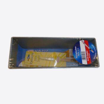 Kaiser promotie cakevorm 30cm & bakkwast uit hout
