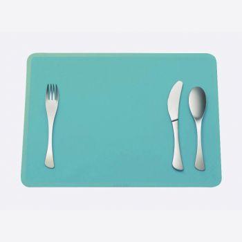 Omami 3-delig bestek & placemat blauw (12sets/disp.)