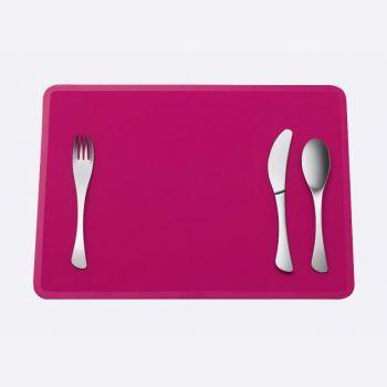 Omami 3-delig bestek & placemat roze (12st./disp.)
