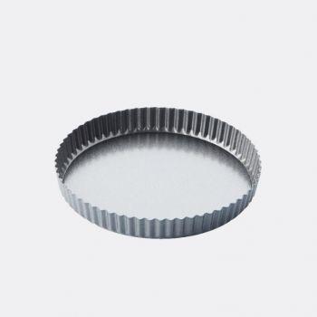 Point-Virgule geribde taart-/quichevorm - anti-aanbaklaag/losse bodem ø 25cm