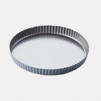 Point-Virgule geribde taart-/quichevorm - anti-aanbaklaag/losse bodem ø 30cm