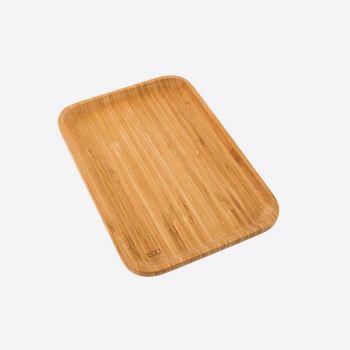 Point-Virgule dienblad uit bamboe medium 28x19x1.9cm