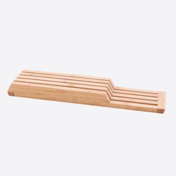 Point-Virgule lade messenblok uit bamboe 43x9.5x4cm