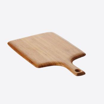 Point-Virgule snijplank uit bamboe met handvat 38x20x1.9cm